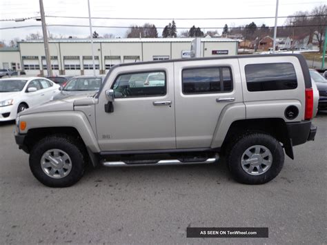 auto air conditioning repair 2007 hummer h3 regenerative braking service manual 2007 hummer h3 passager air bag 2007 hummer h3 loaded 4x4 5 passenger leather