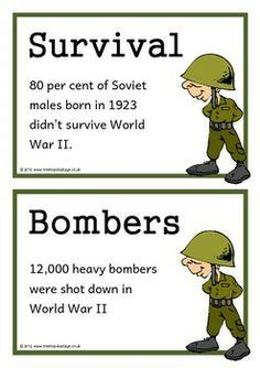 world war 2 133 fascinating facts for kids volume 11 world war two fact cards treetop displays downloadable eyfs ks1 ks2 classroom display and