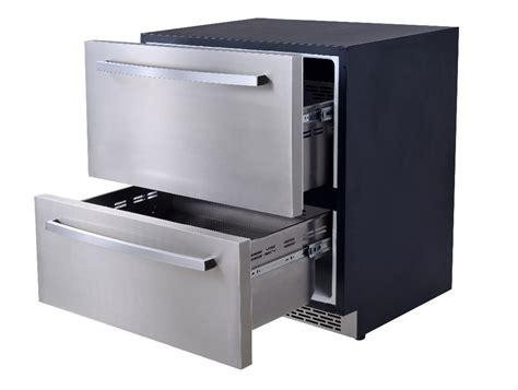 Stainless Steel Ref Cabinetcombi Cabinet Mgurf 120 120l electronic mini bar drawer fridge stainless steel