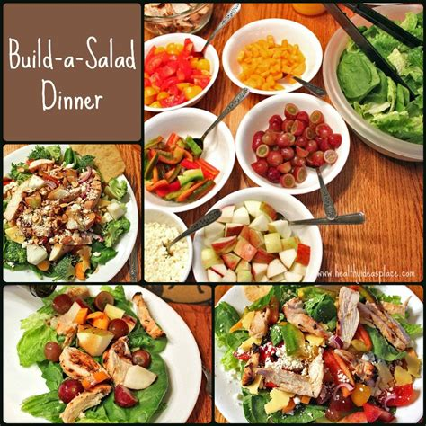 salad ideas for dinner build a salad dinner healthy ideas place
