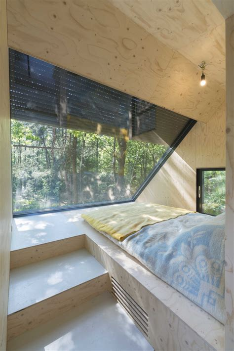 forest house kube architecture archdaily transformation forest house bloot architecture archdaily