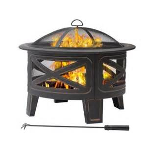 pits home depot 30 in crossfire pit discontinued ft 51174 the home