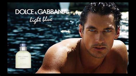 david gandy dolce gabbana light blue campaigns youtube