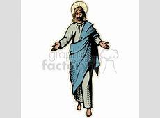 The Risen Christ clipart. Royalty-free clipart # 164993 Girl Soccer Silhouette Clip Art