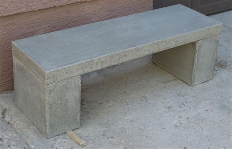 Concrete Bench Making Pdf Woodworking