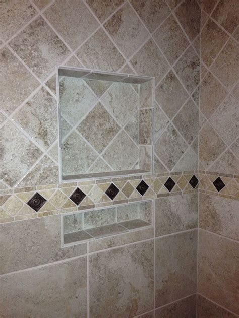 bathroom tiling patterns 17 best images about shower wall tile patterns on