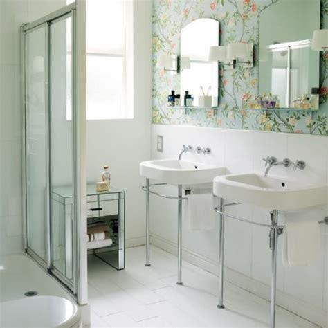 Bathroom Wallpaper Vintage Retro Bathroom Wallpaper 2017 Grasscloth Wallpaper