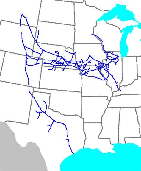 burlington texas map chicago burlington and quincy railroad