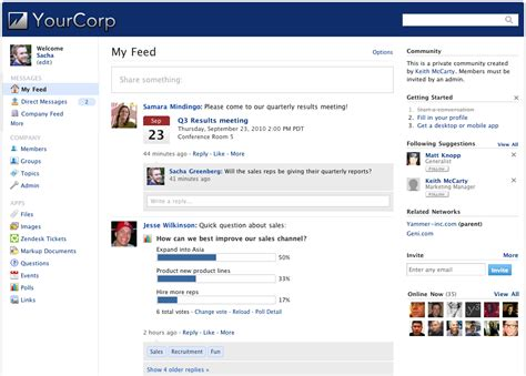 Office Yammer The New Yammer Is Here Office Blogs