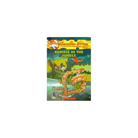 libro rumble in the jungle geronimo stilton 53 rumble in the jungle english wooks