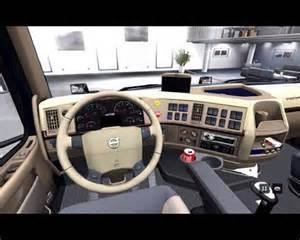 Volvo 780 Interior Pictures Retextured Interior Volvo Vnl64 T 780 Ets2planet