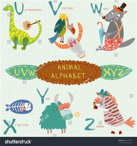 animal alphabet u stock photo image 8440040 animal alphabet u v w stock vector 151807199