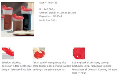 Tuppershop Stor N Pour Tupperware cicilan tupperware dblueprint