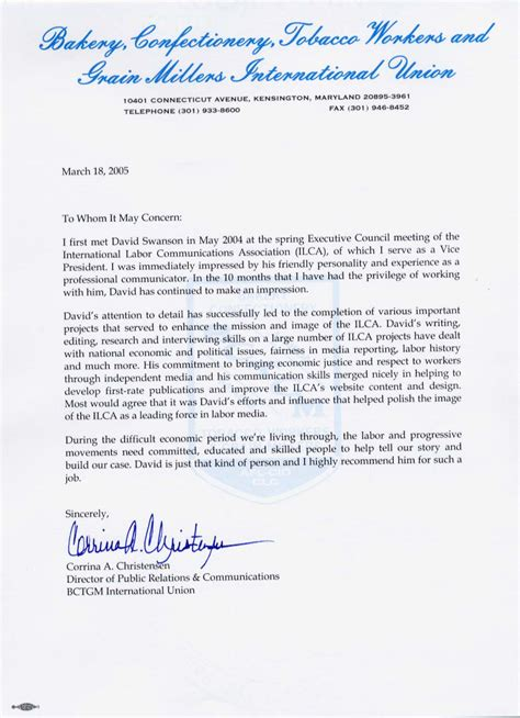Sle Memo Gift Exchange recommendation letter for exchange student sle 28 images