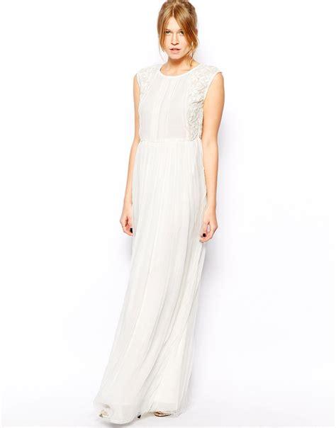 Maxi Dress New Afida white chiffon maxi dress csmevents