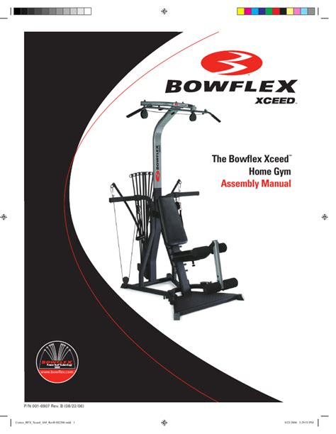 bowflex home 2 user s guide manualsonline