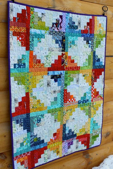 269 best images about log cabin pineapple quilts on