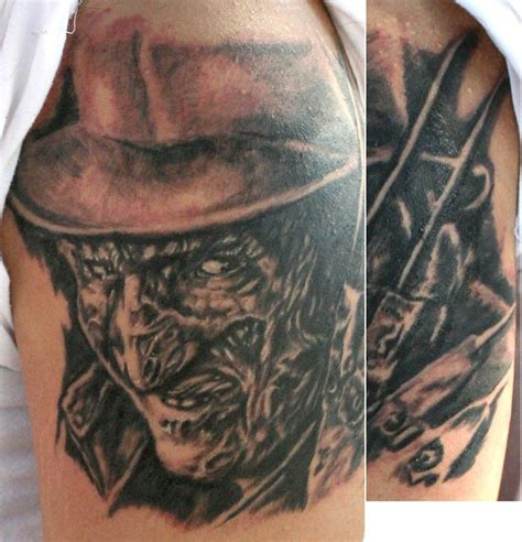 tattoo liner voltage freddy krueger by mike ledoux tattoos
