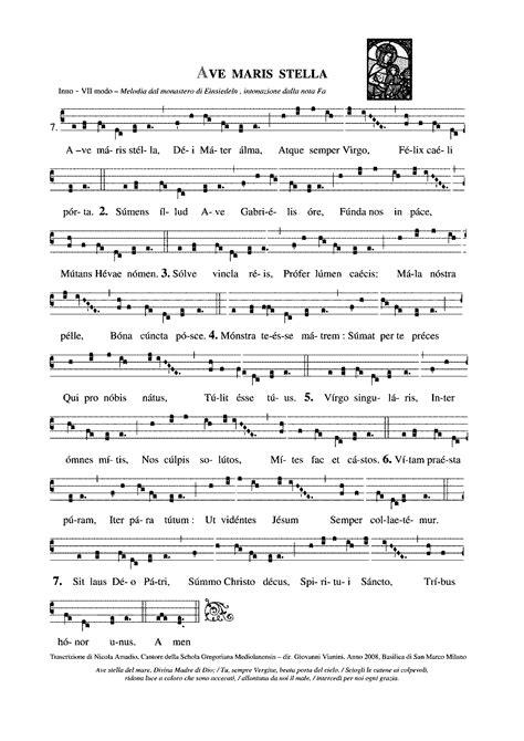 Ave maris stella (Gregorian Chant) - IMSLP: Free Sheet