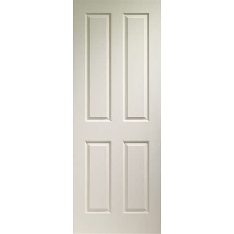 4 Panel Doors by Xl Joinery White Moulded 4 Panel