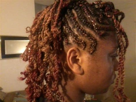 mwahahwk hairstule done using kinky braids naturals twists micros etc hair gallery and