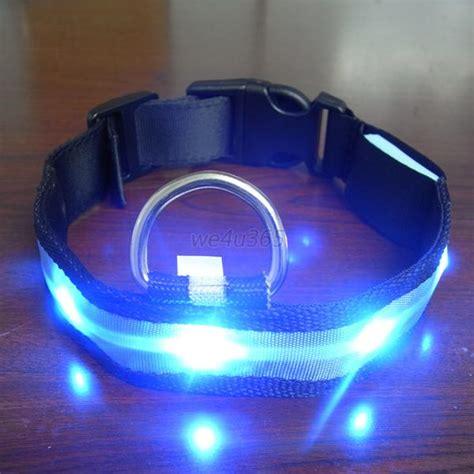 Light Pet by Pet Led Light Up Flash Safety Neck Collar