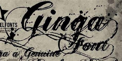 ginga tattoo font generator 21 awesome free cursive tattoo fonts