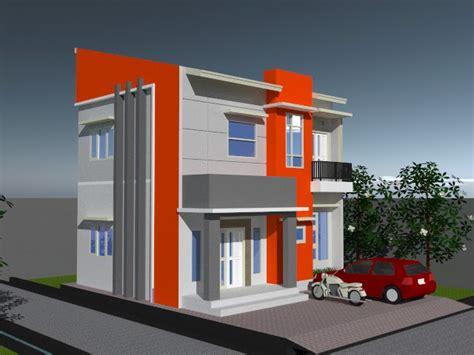 desain rumah bagian depan griya idaman anda desain rumah 2 lantai renovasi bagian