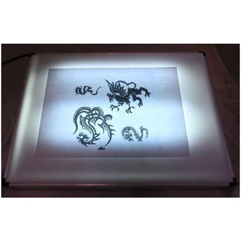 tattoo kit light in the box ultra hd tattoo stencil tracing light box a3 3 bulb buy