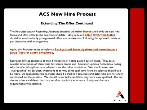 Offer Letter Contingent On Background Check Back To Basics Recruiting New Recruiter