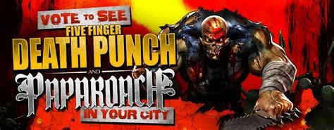 five finger death punch ashes five finger death punch papa roach in this moment and