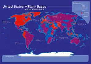 army bases map the worldwide network of us bases the global