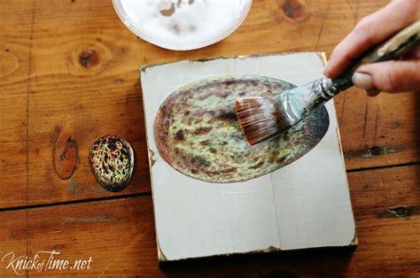 Decoupage Wood - scrap wood table trivets knick of time