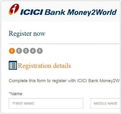 transfer icici bank icici bank s money2world details procedure benefits