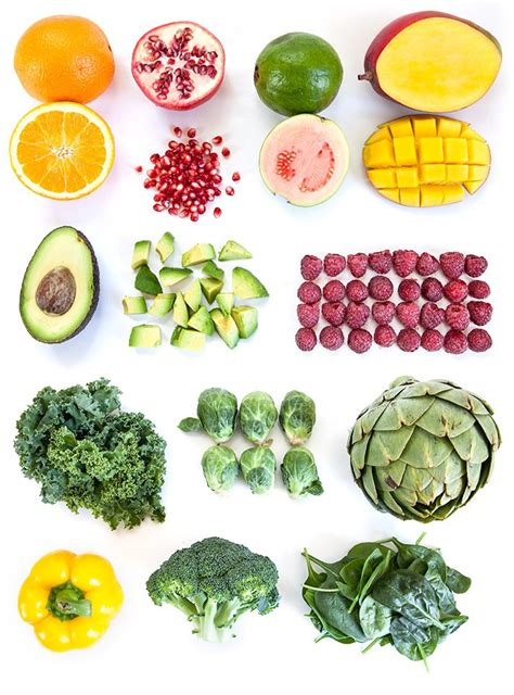 g fruits and vegetables the most nutritious fruits and vegetables