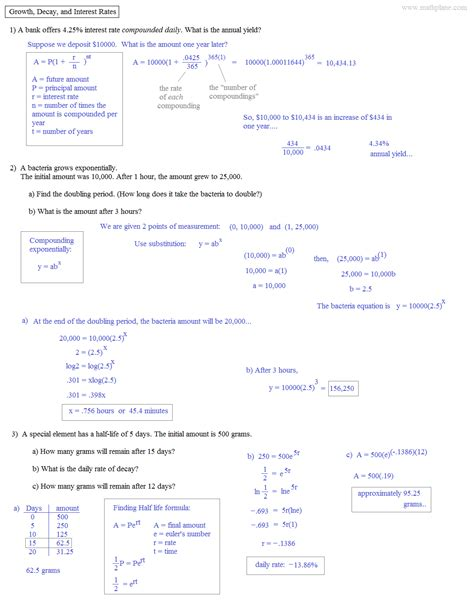 Calculating Compound Interest Worksheet by Calculating Compound Interest Worksheet Worksheets