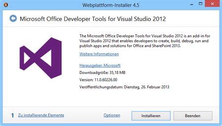 atwork.blog | neue office developer tools for visual
