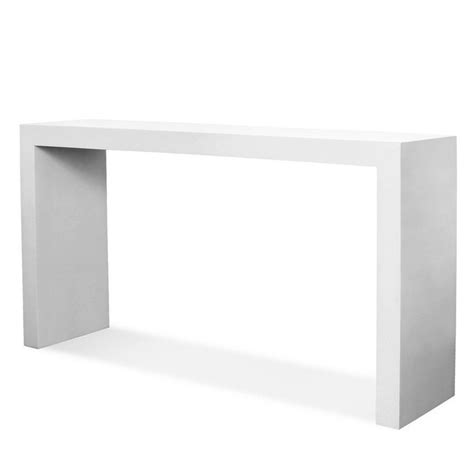 Glamorous Console Tables By Jonathan Adler White Lacquer Sofa Table