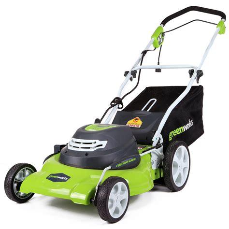 best lawn mower motor best corded mower reviews of 2016 electric lawn mower