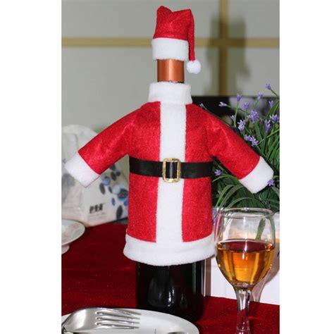 Santa Claus Wine Bag set of santa claus wine bottle cover bags