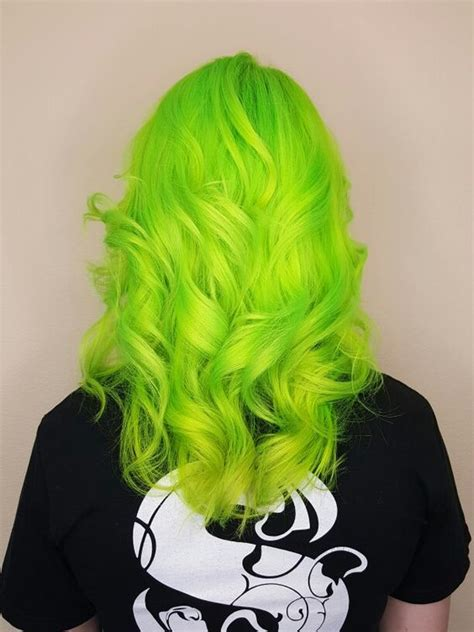hair colors for green neon green hair color hair colors ideas
