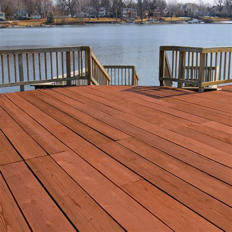 rustic deck outdoor with redwood deck stain home depot