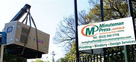 Load Shedding Benoni by Minuteman Press Hatfield Minuteman Press Print Services