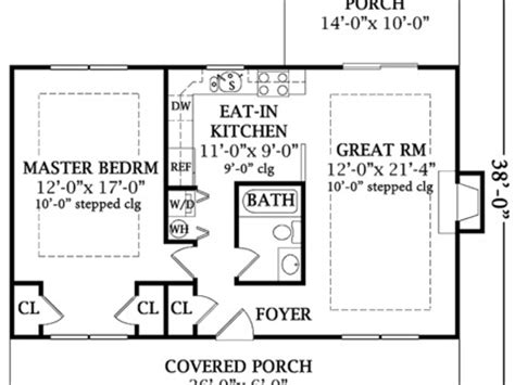 one bedroom cottage plans one bedroom home plans 1 bedroom house plans 24x24 1