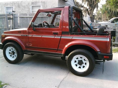 Suzuki Samurai Jump Hondasw 1987 Suzuki Samurai Specs Photos Modification