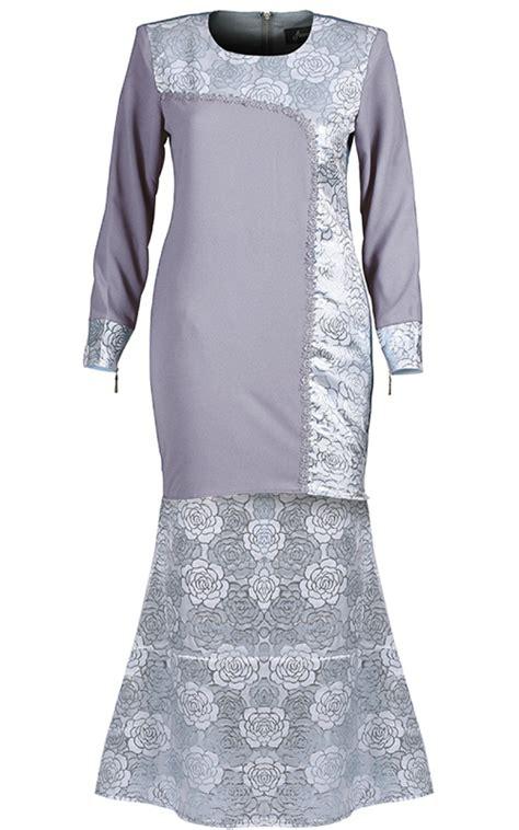 Sale Shaper Baju Shirt X43 baju kurung songket femina g silver baju kurung
