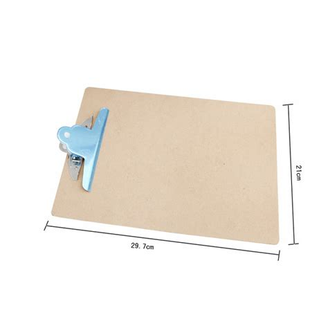 writing board papers bulk lot 24 wooden a4 file paper clip writing board