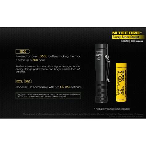 Harga Nitecore Concept 1 by Nitecore Concept 1 Pioneer Design Torch Nitecore Co Uk