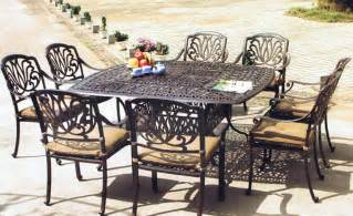 Cast Iron Patio Dining Sets Patio Sets D S Furniture