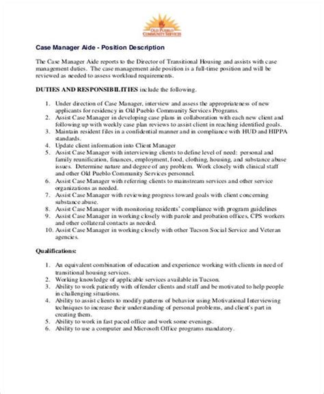 management description best resumes